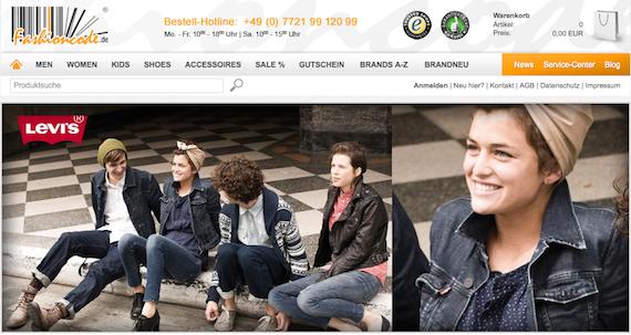 günstige Designermode bei Fashioncode.de kaufen
