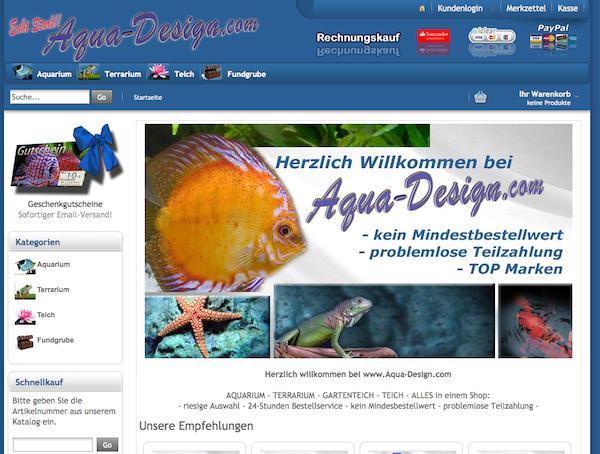 Aqua-Design - Teich und Aquarium Zubehör Online Shop