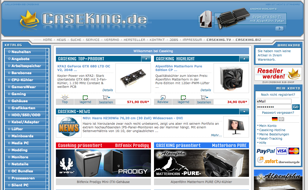 Hardware günstig online bestellen