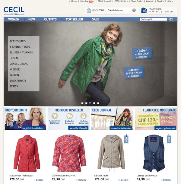 Cecil - Damenmode Online Shop