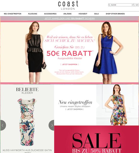 Coast - Damenmode Online Shop