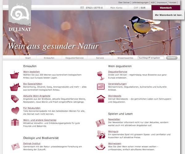 Delinat - Wein Online Shop