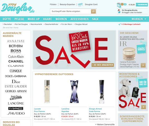 Kosmetik und Parfüm online günstiger bestellen