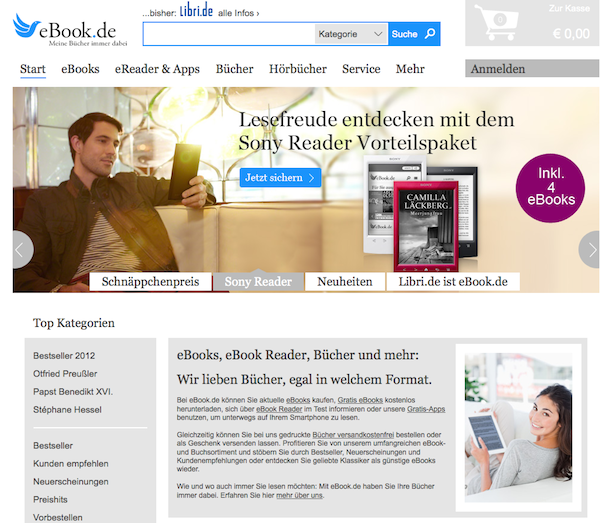 Ebook - eBooks und Bücher   Online Shop
