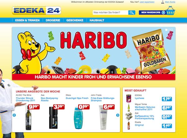 Edeka24 - Lebensmittel und Hygieneprodukte Online Shop
