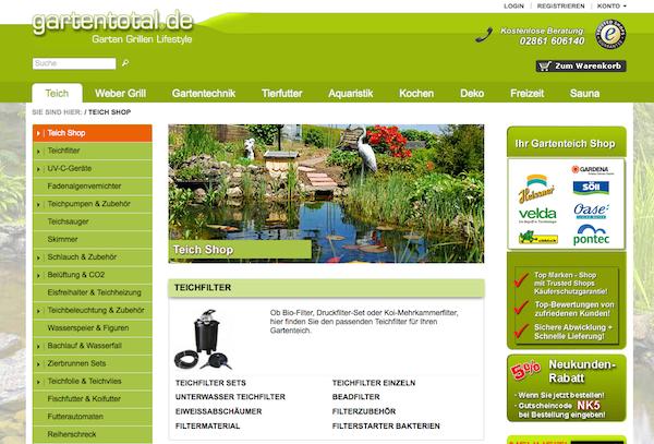 Gartentotal - Garten und Freizeit Online Shop