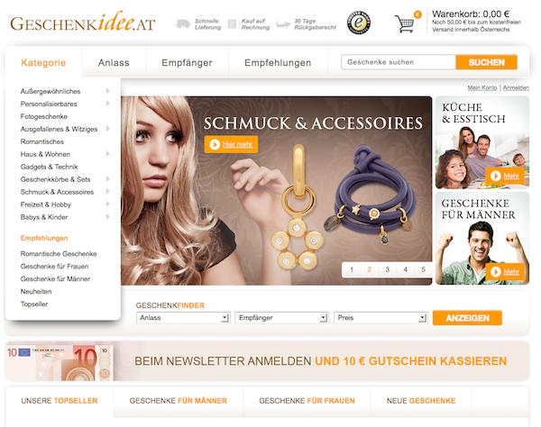 Geschenkidee - Geschenke Online Shop