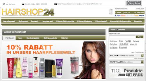 Friseurbedarf günstige online bei Hairshop24 bestellen