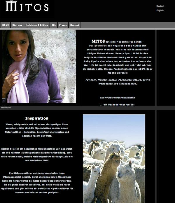 Mitos - Online Shop für Strick-Designermode