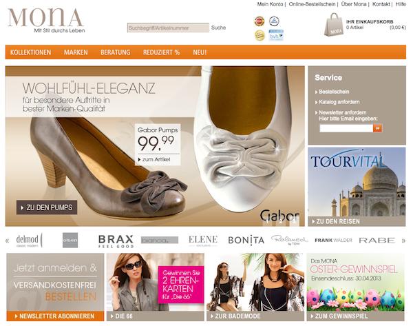 Mona Mode & Accessoires Online Shop