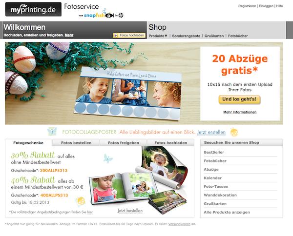 MyPrinting - Posterdruck und Fotogeschenke Online Shop