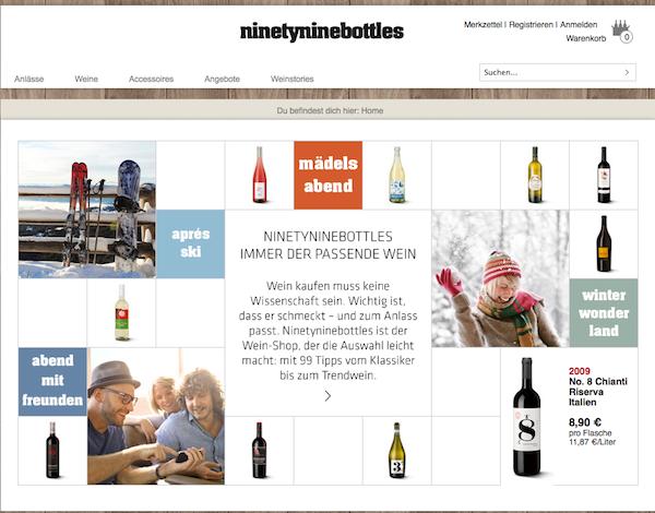 Ninetyninebottles - Wein  Online Shop