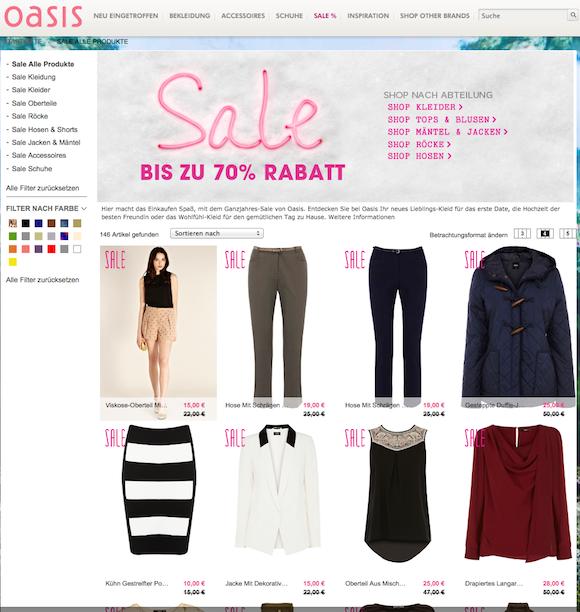 oasis - Damenmode Online Shop