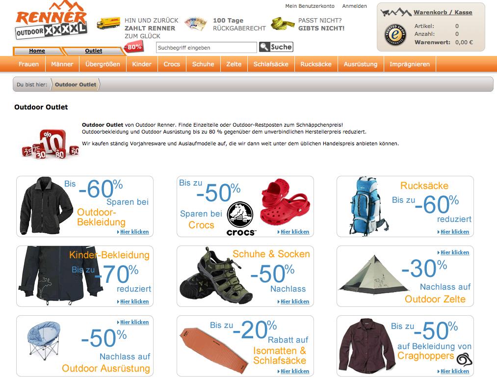 Outdoor Mode online bestellen