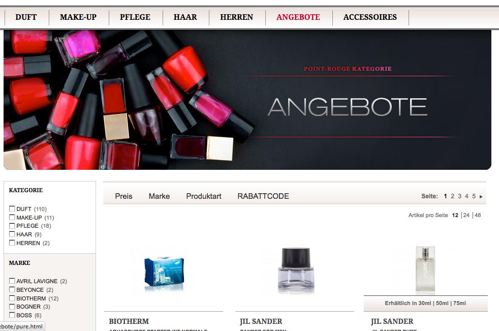 Kosmetika Angebote günstig kaufen
