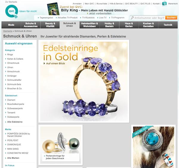 QVC - Mode, Schmuck und Wellnes Online Shop