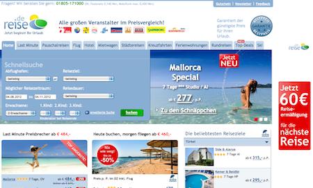 günstige Reisen online buchen bei Reise.de