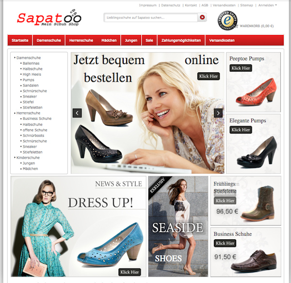 Sapatoo Schuhe Online Shop