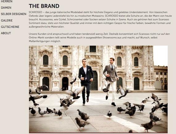 Schuhe aus Italien günstig bestellen bei Scarosso.com