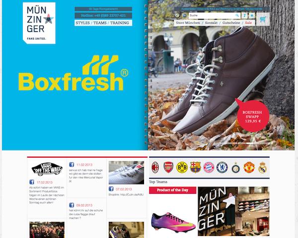 Sport Münzinger - Sport Accessories Online Shop