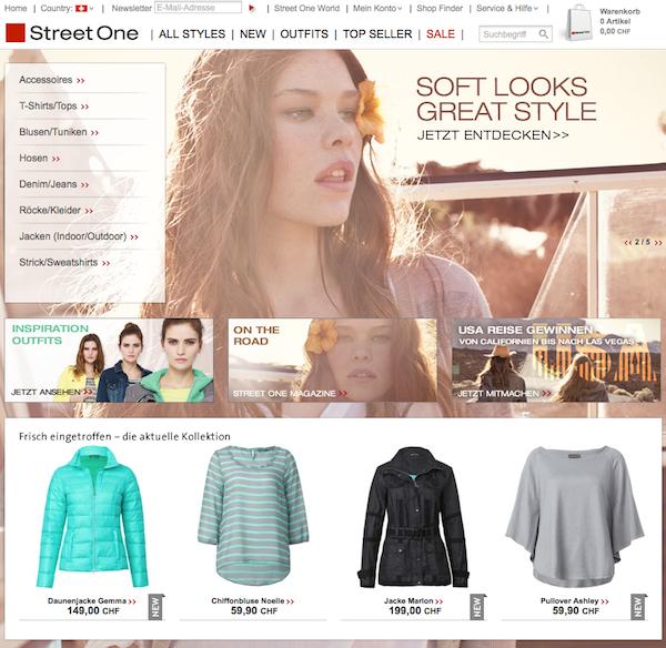 Street One Schweiz- Damenmode Online Shop