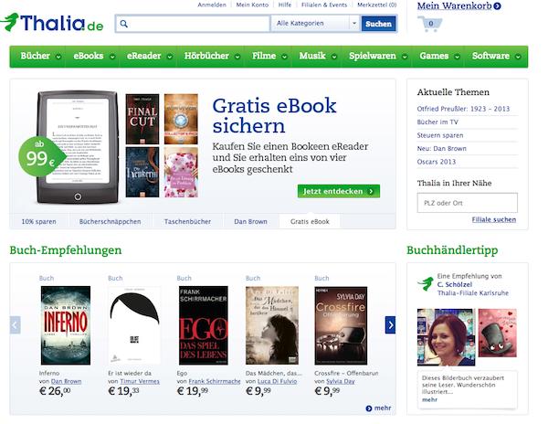 Thalia - Bücher online bestellen
