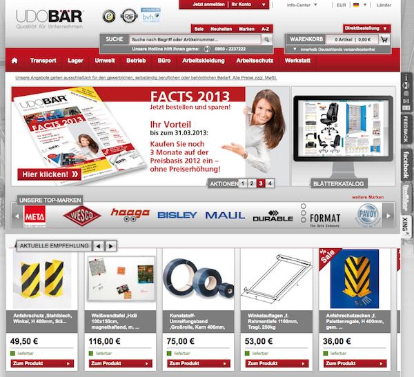 Udobaer - Büro und Betriebeinrichtung  Online Shop