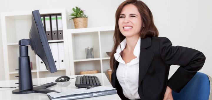 Ergonomische Schreibtischstühle beugen Rückenbeschwerden vor