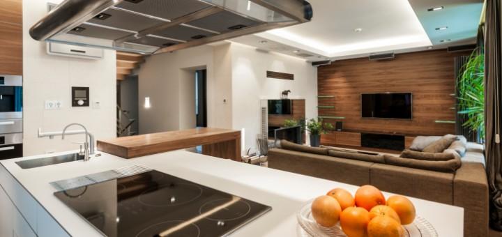Moderne Kücheneinrichtung